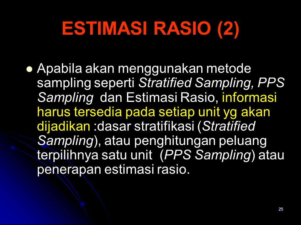 ESTIMASI RASIO (2)
