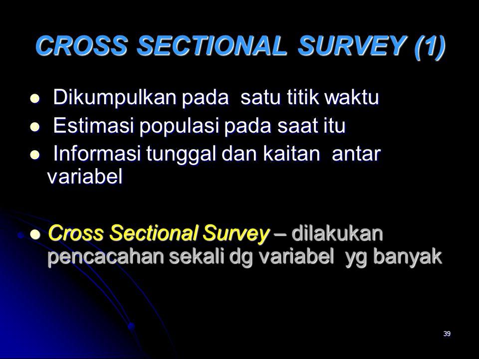 CROSS SECTIONAL SURVEY (1)