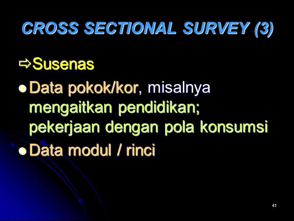 CROSS SECTIONAL SURVEY (3)