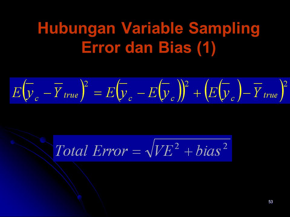 Hubungan Variable Sampling Error dan Bias (1)