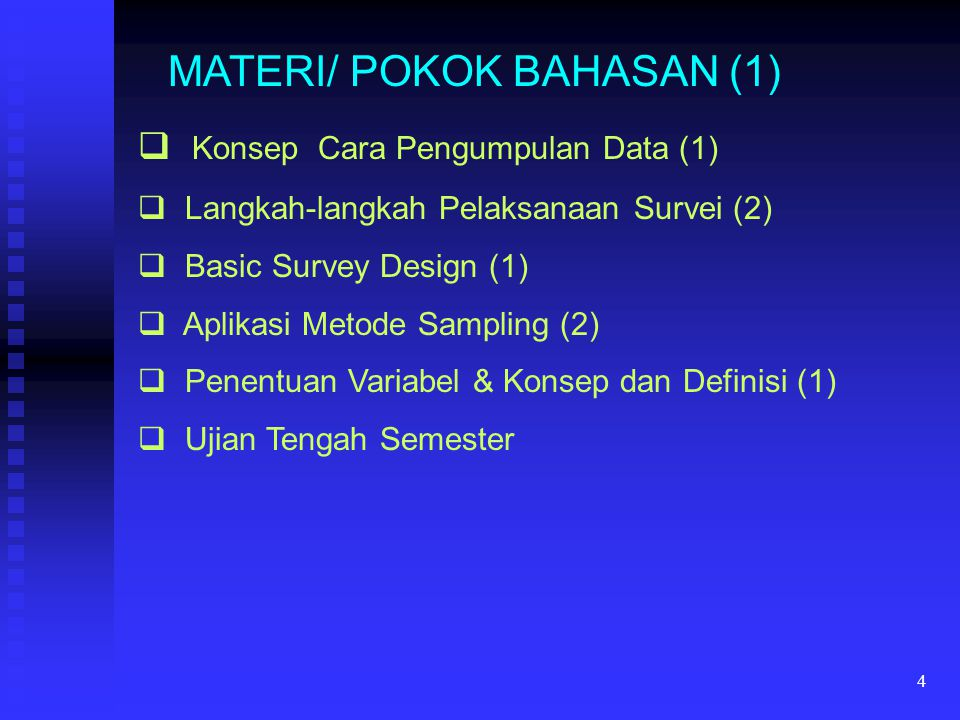MATERI/ POKOK BAHASAN (1)
