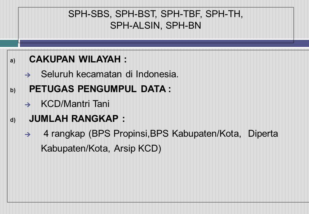 SPH-SBS, SPH-BST, SPH-TBF, SPH-TH, SPH-ALSIN, SPH-BN
