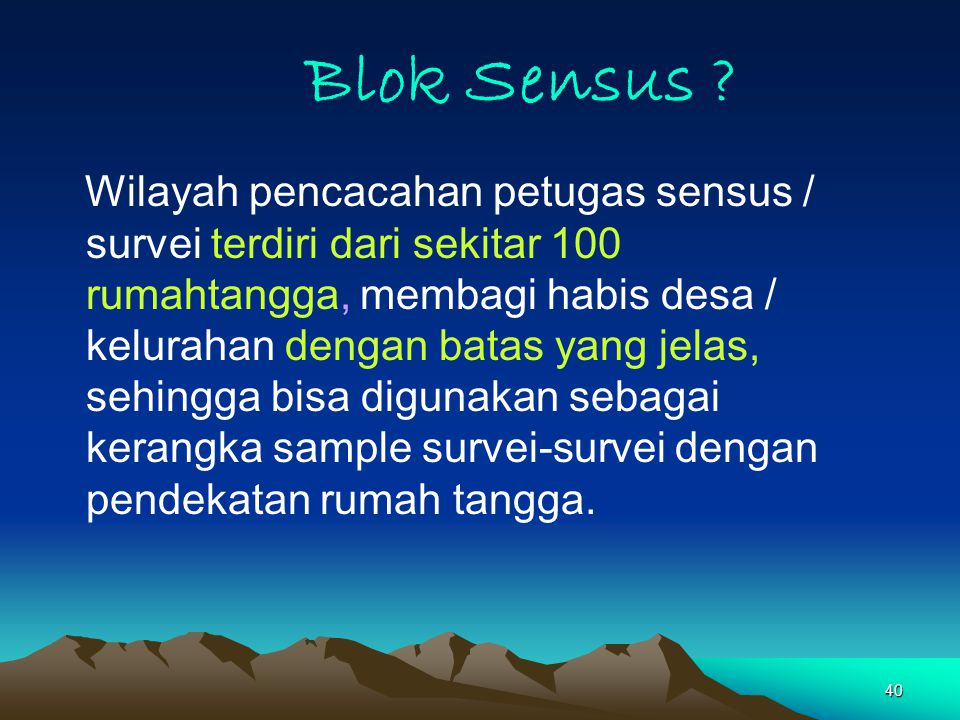 Blok Sensus