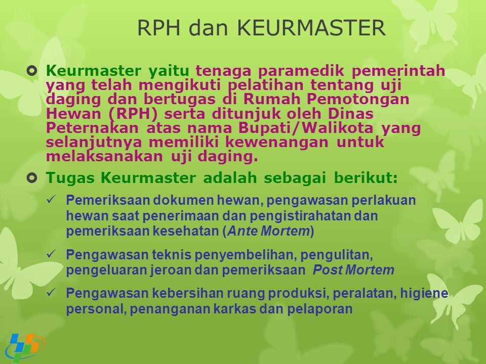 RPH dan KEURMASTER