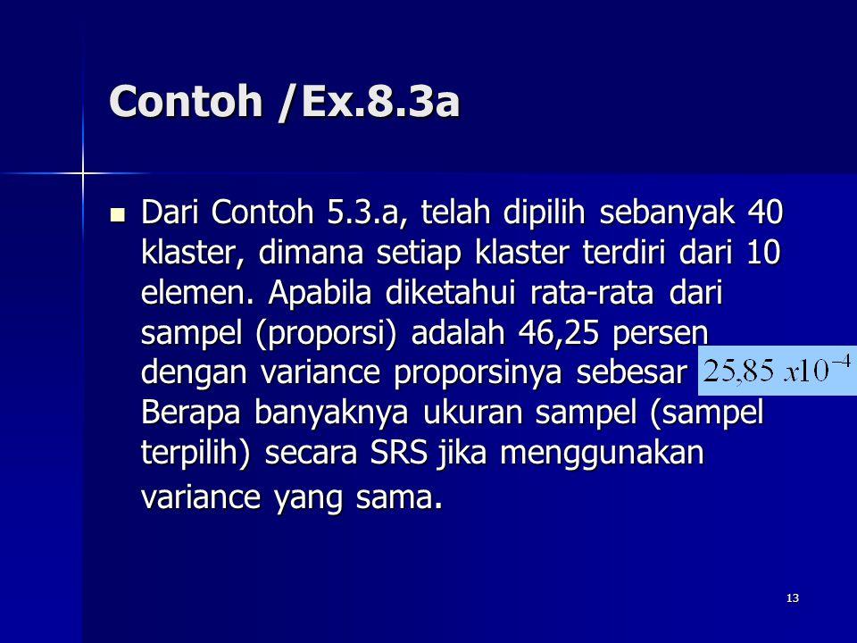 Contoh /Ex.8.3a