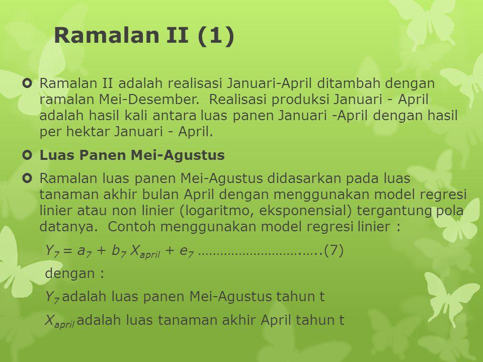 Ramalan II (1)