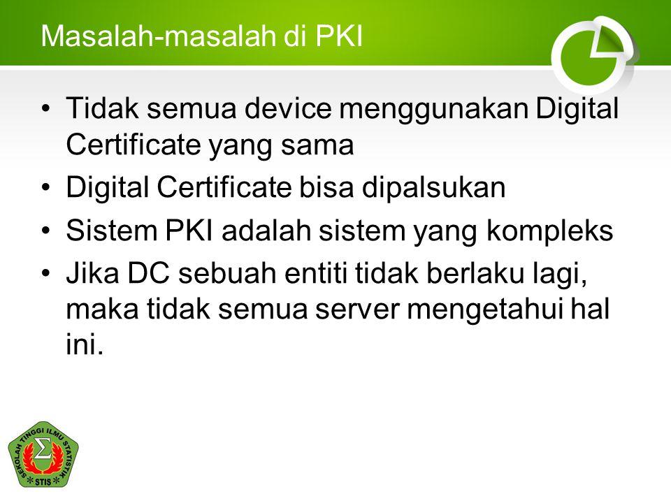 Masalah-masalah di PKI