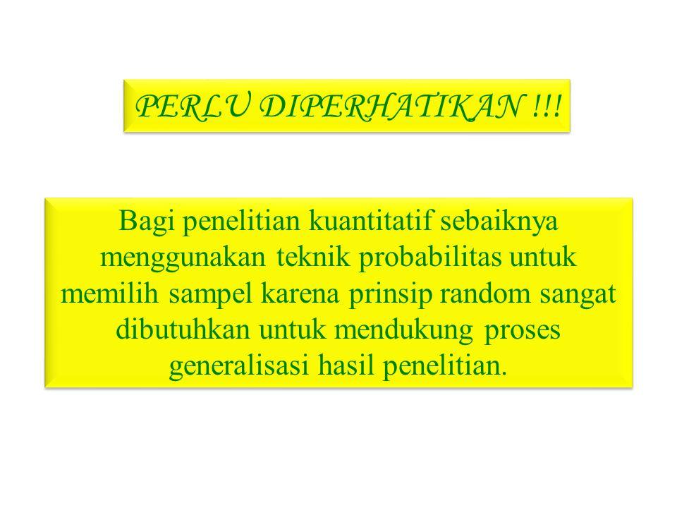 PERLU DIPERHATIKAN !!!
