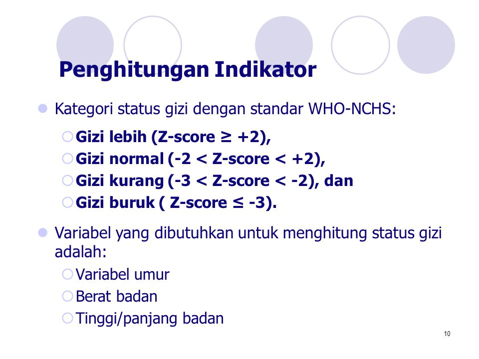 Penghitungan Indikator