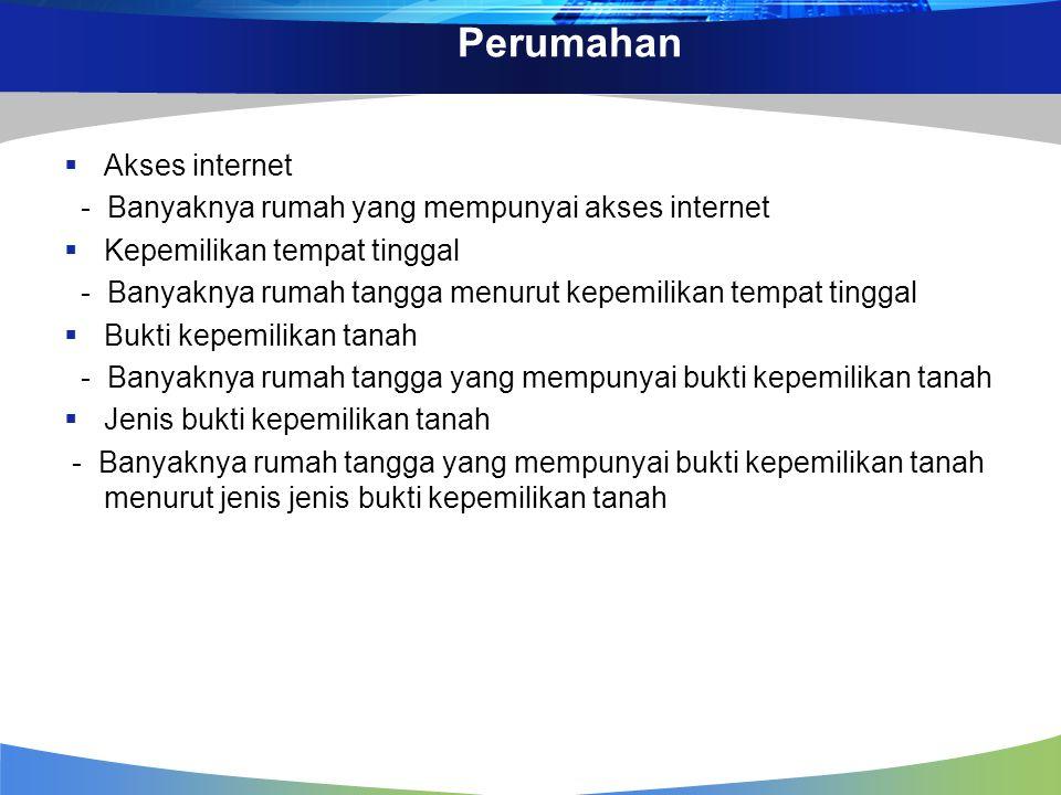 Perumahan Akses internet