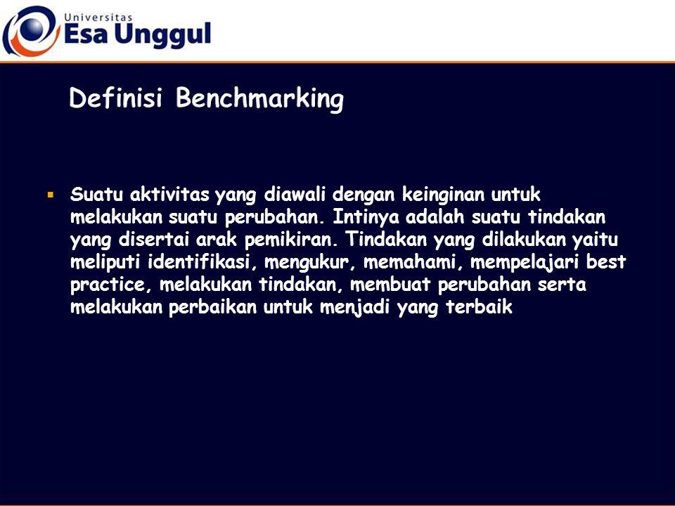 Definisi Benchmarking