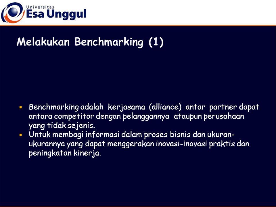 Melakukan Benchmarking (1)