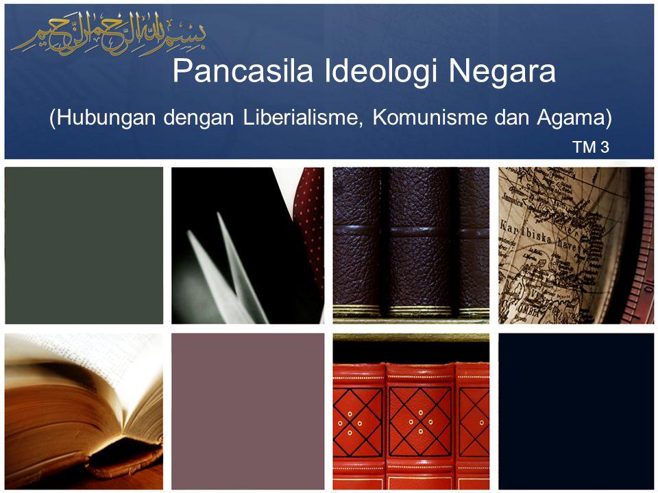 Pancasila Ideologi Negara