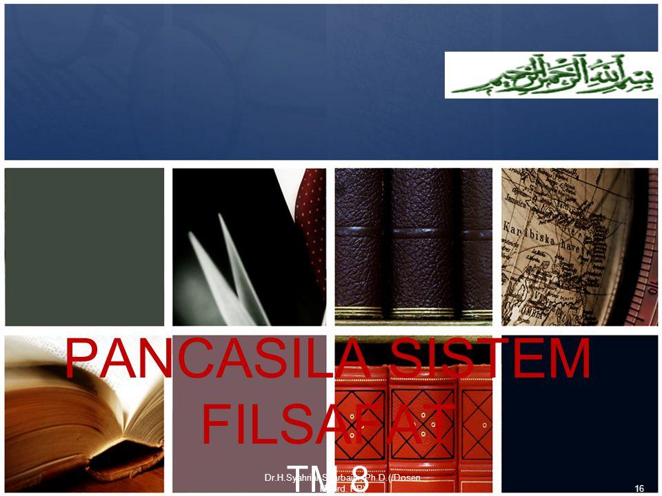 PANCASILA SISTEM FILSAFAT TM 8
