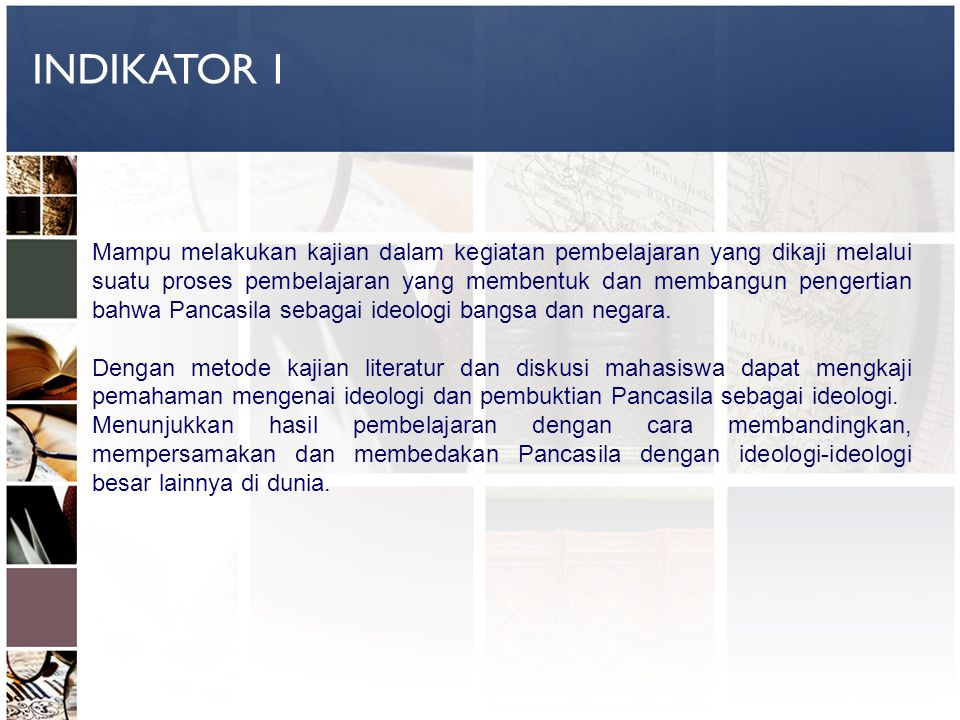 INDIKATOR 1