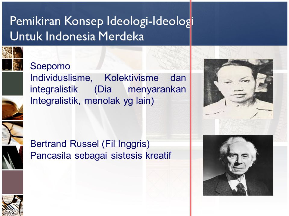 Pemikiran Konsep Ideologi-Ideologi Untuk Indonesia Merdeka