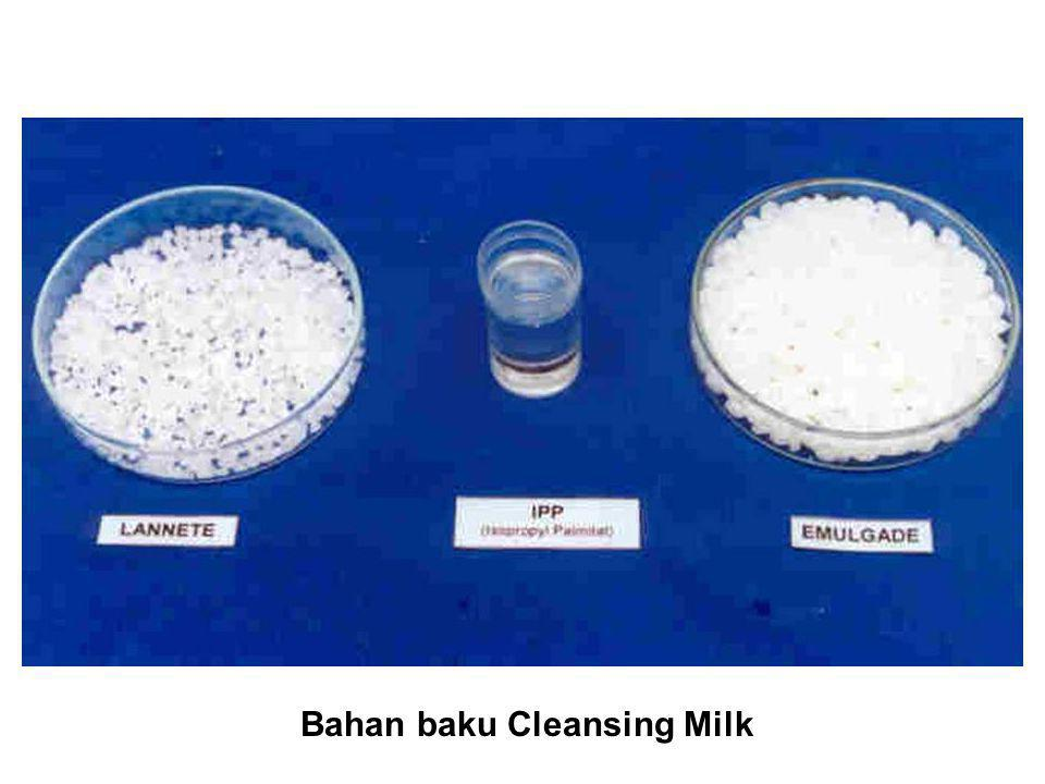 Bahan baku Cleansing Milk