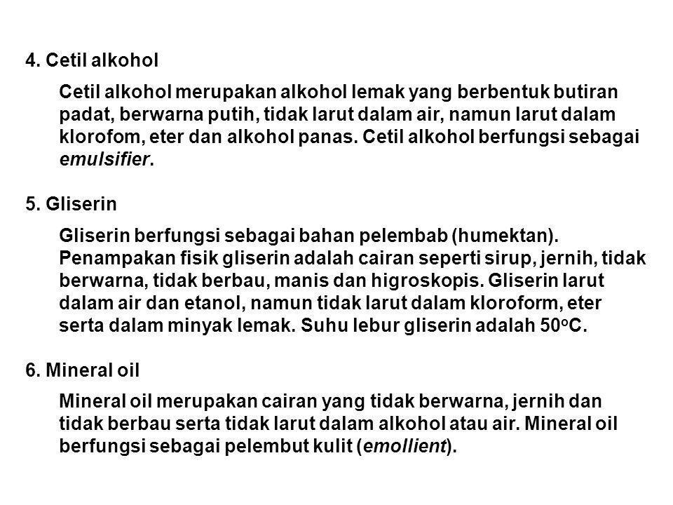 4. Cetil alkohol