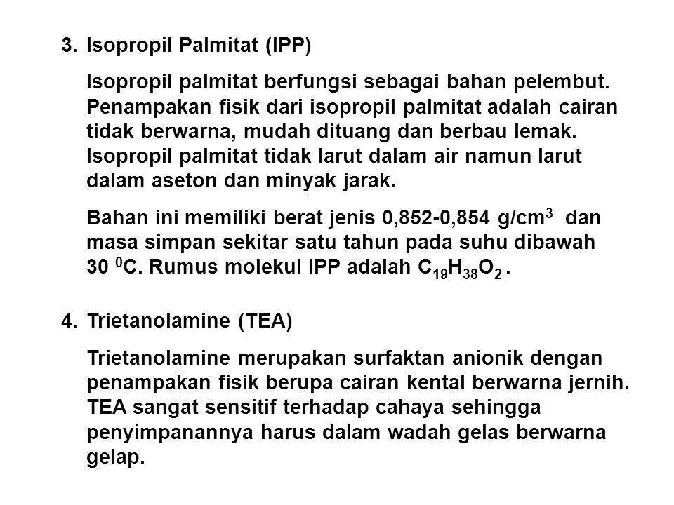 3. Isopropil Palmitat (IPP)