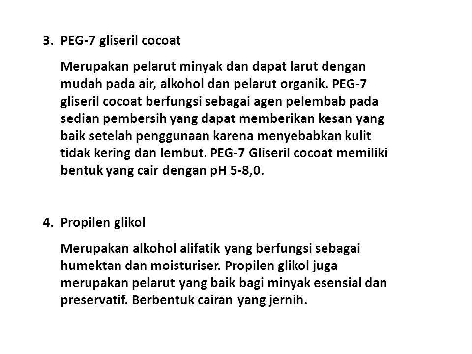 3. PEG-7 gliseril cocoat