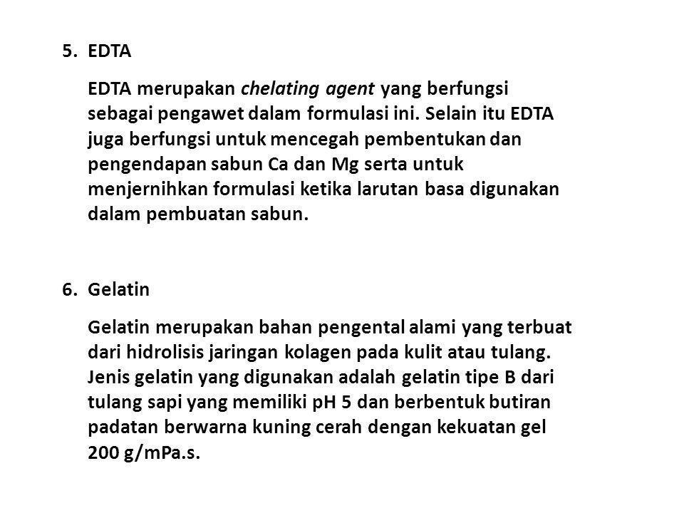 5. EDTA