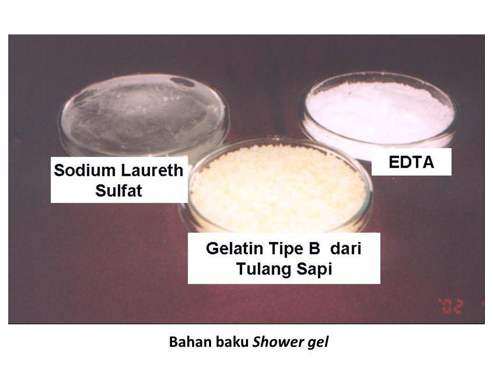 Bahan baku Shower gel