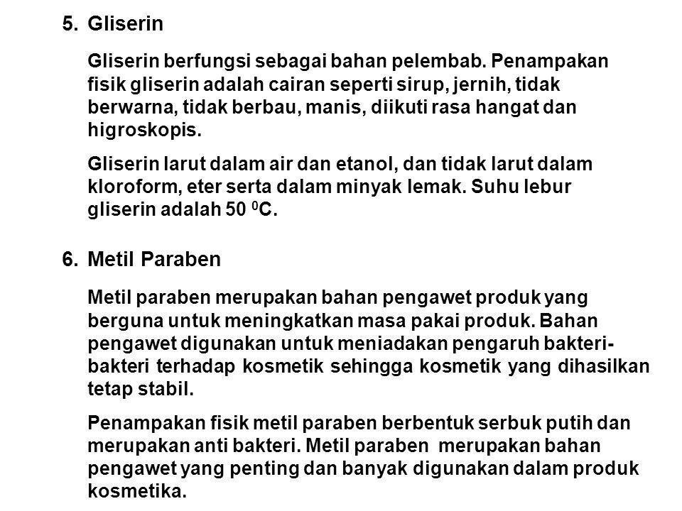 5. Gliserin