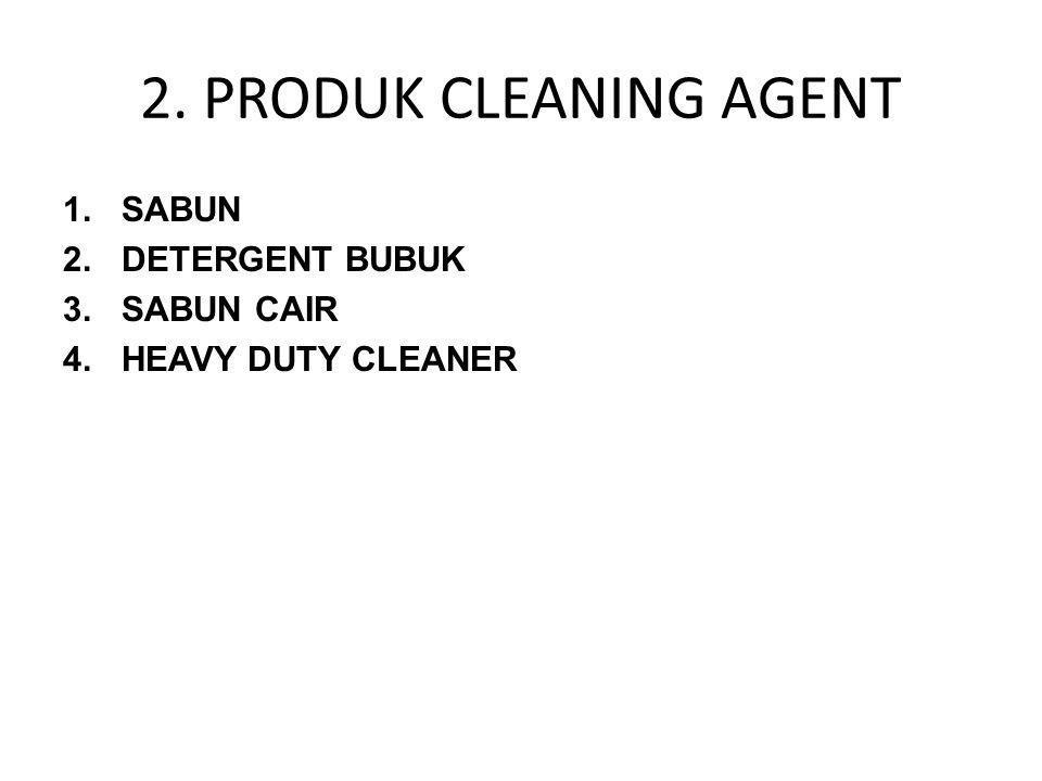 2. PRODUK CLEANING AGENT SABUN DETERGENT BUBUK SABUN CAIR