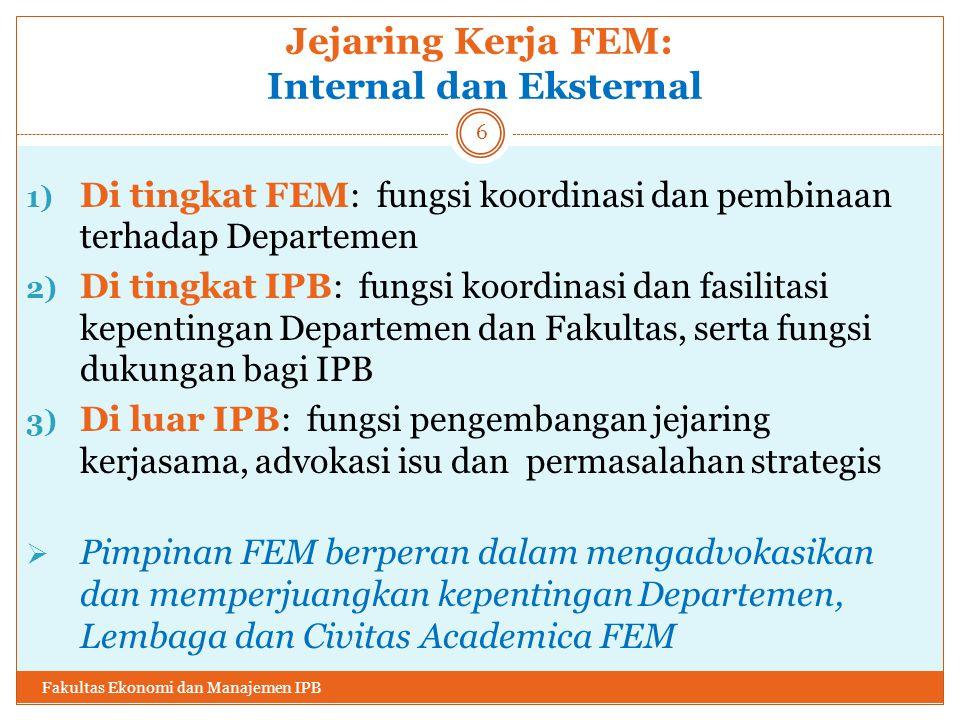 Jejaring Kerja FEM: Internal dan Eksternal