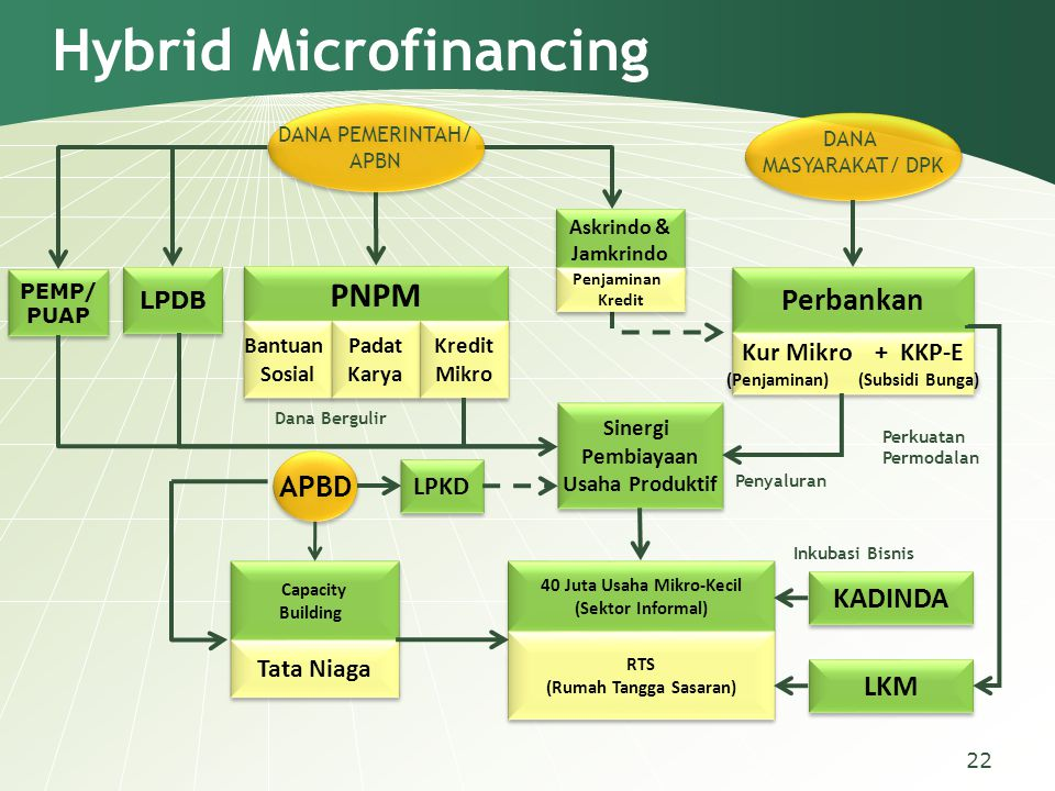 Hybrid Microfinancing