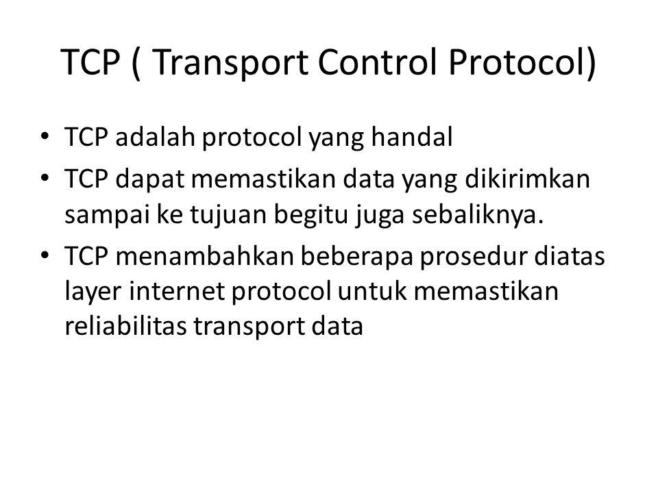 TCP ( Transport Control Protocol)