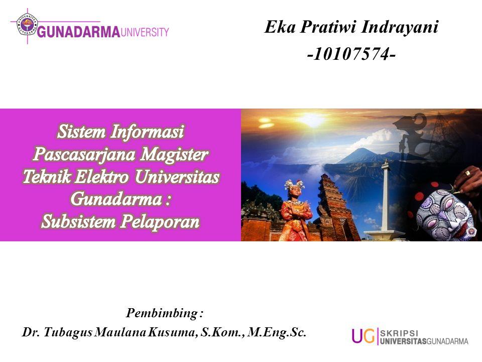 Eka Pratiwi Indrayani -10107574-