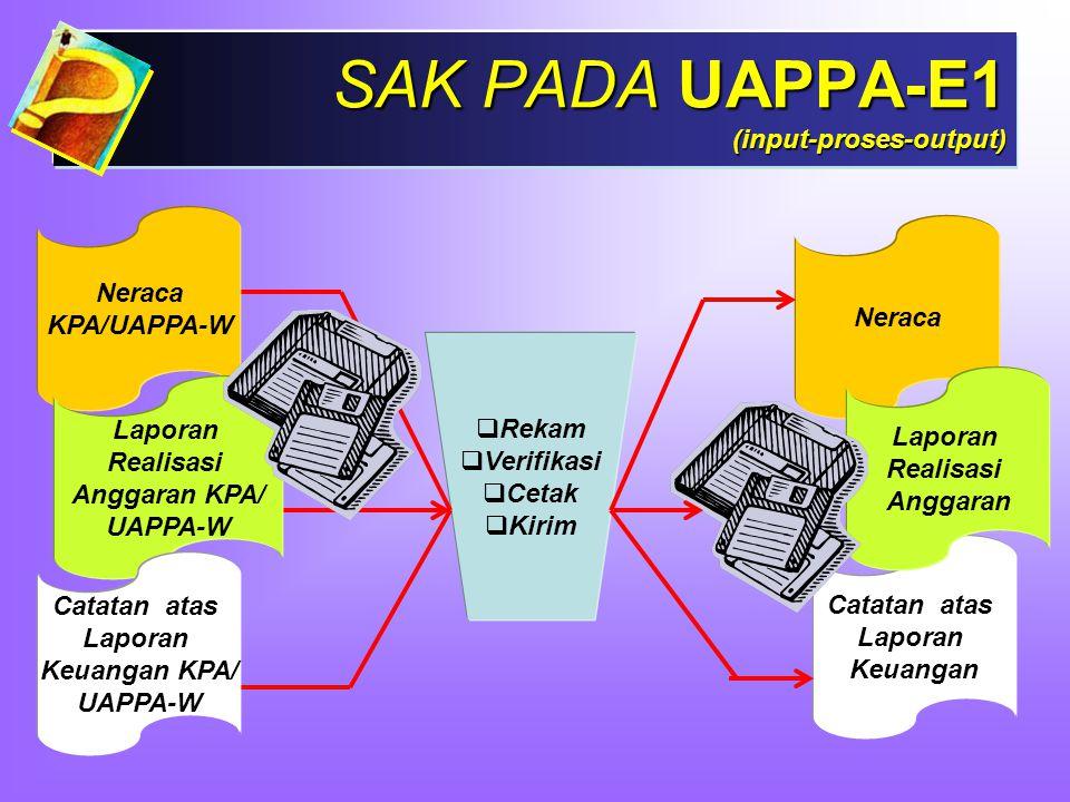 SAK PADA UAPPA-E1 (input-proses-output)