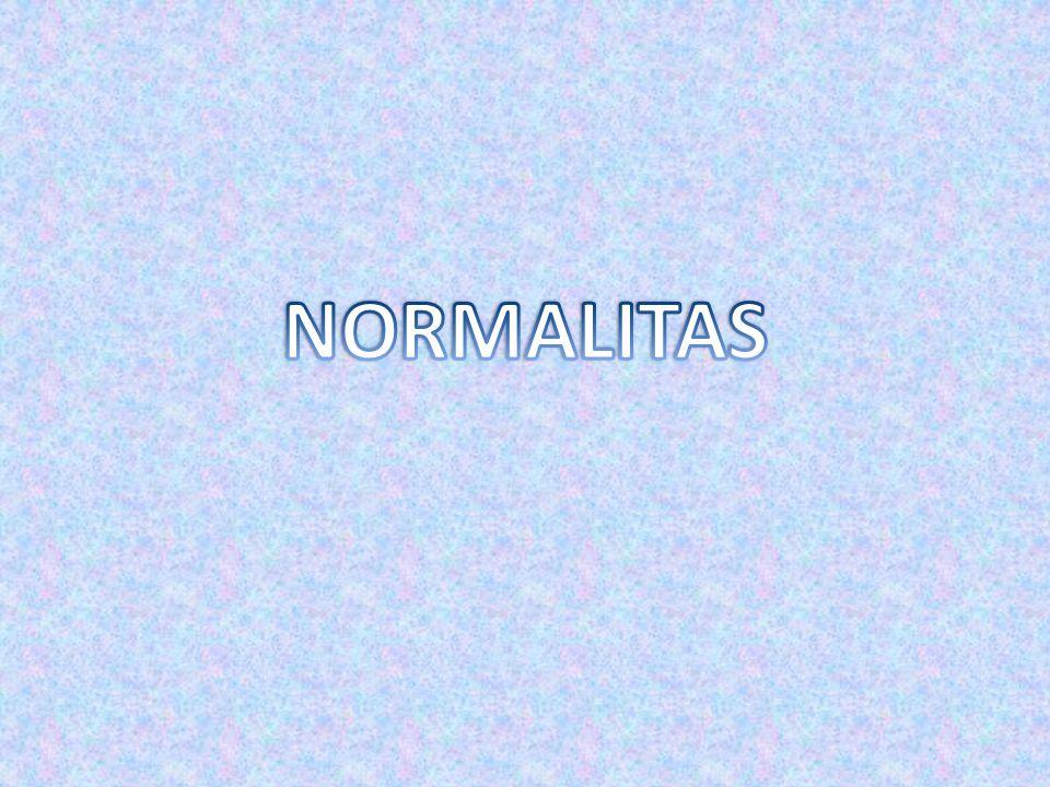 NORMALITAS
