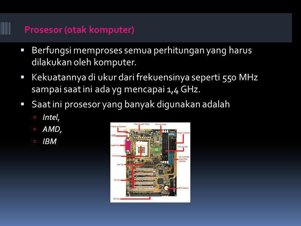 Prosesor (otak komputer)