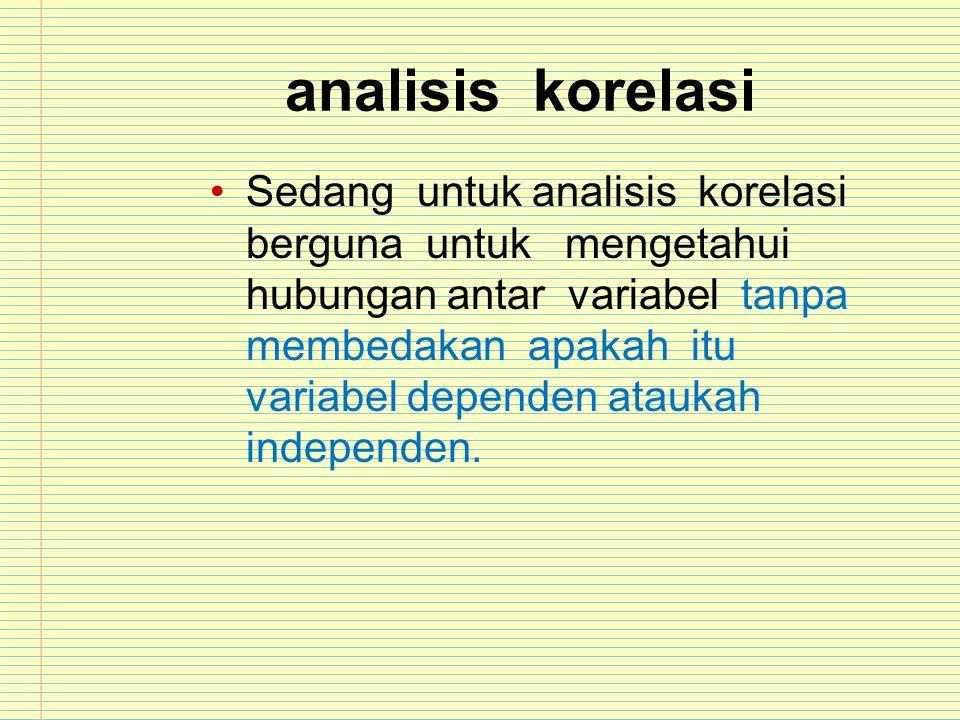 analisis korelasi