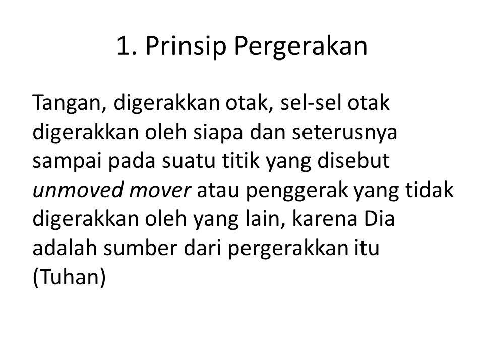 1. Prinsip Pergerakan