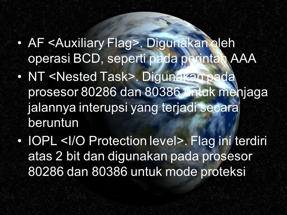 AF <Auxiliary Flag>