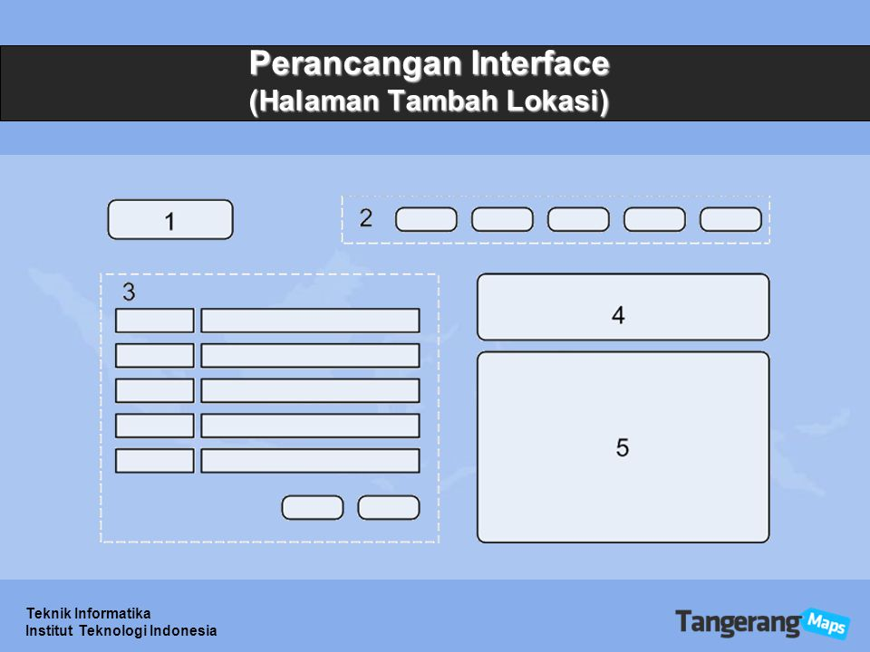 Perancangan Interface (Halaman Tambah Lokasi)
