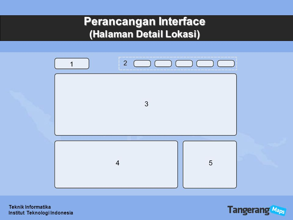 Perancangan Interface (Halaman Detail Lokasi)