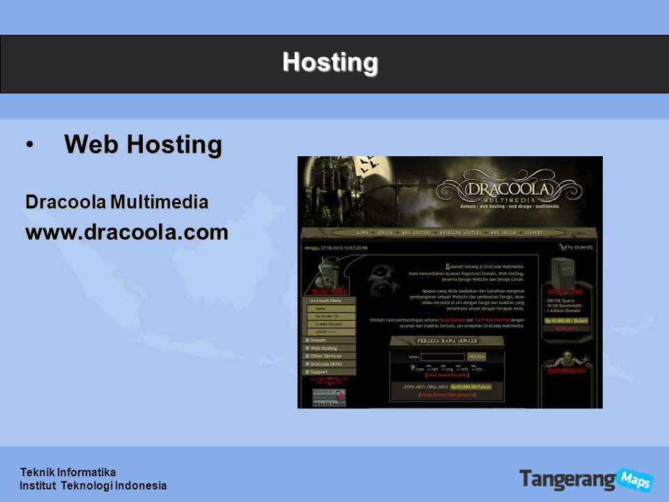 Hosting Web Hosting www.dracoola.com Dracoola Multimedia
