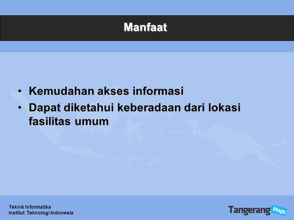 Kemudahan akses informasi