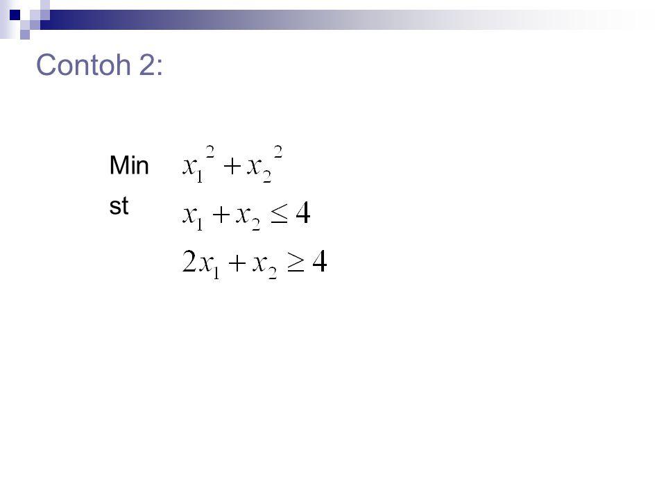 Contoh 2: Min st