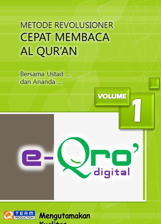 1 Cover CEPAT MEMBACA AL QUR'AN METODE REVOLUSIONER