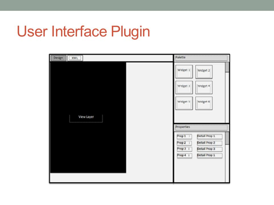 User Interface Plugin