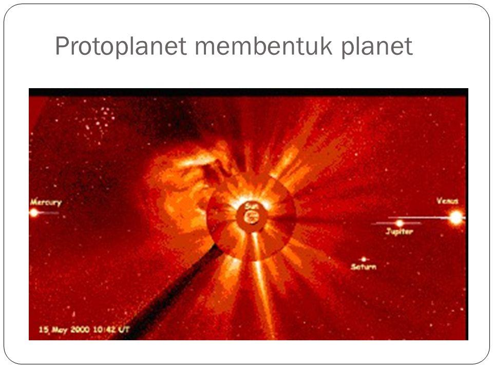 Protoplanet membentuk planet