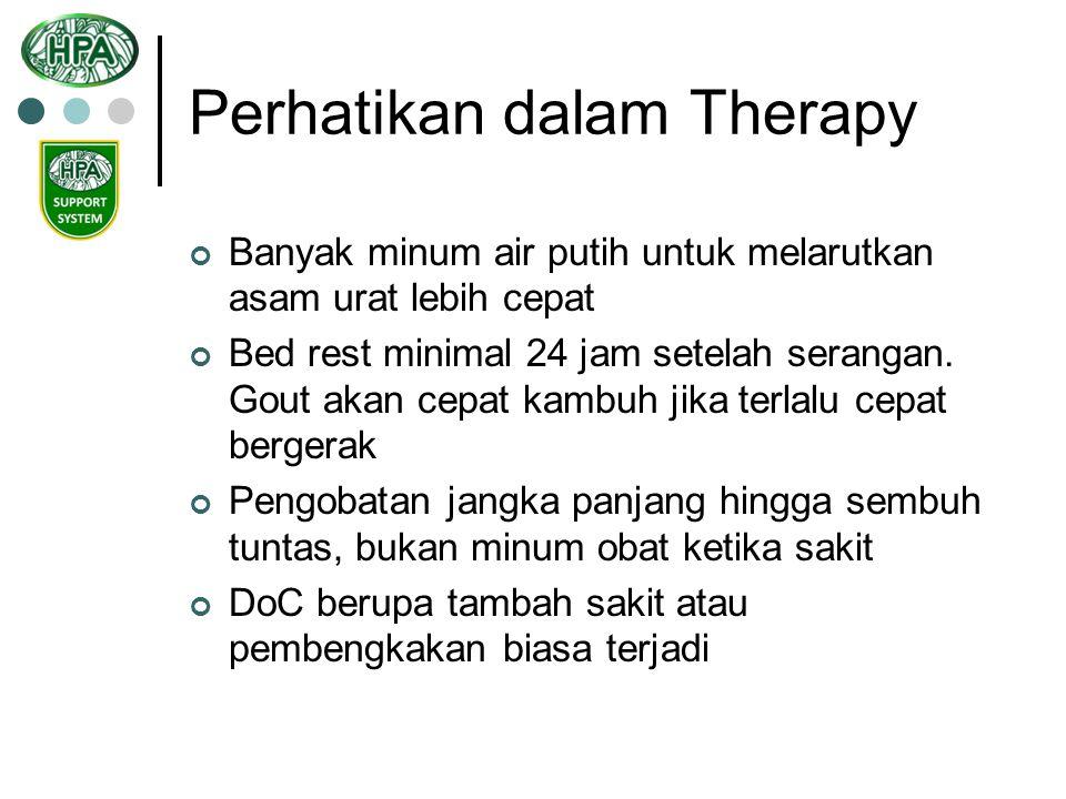 Perhatikan dalam Therapy