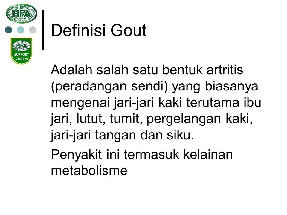 Definisi Gout