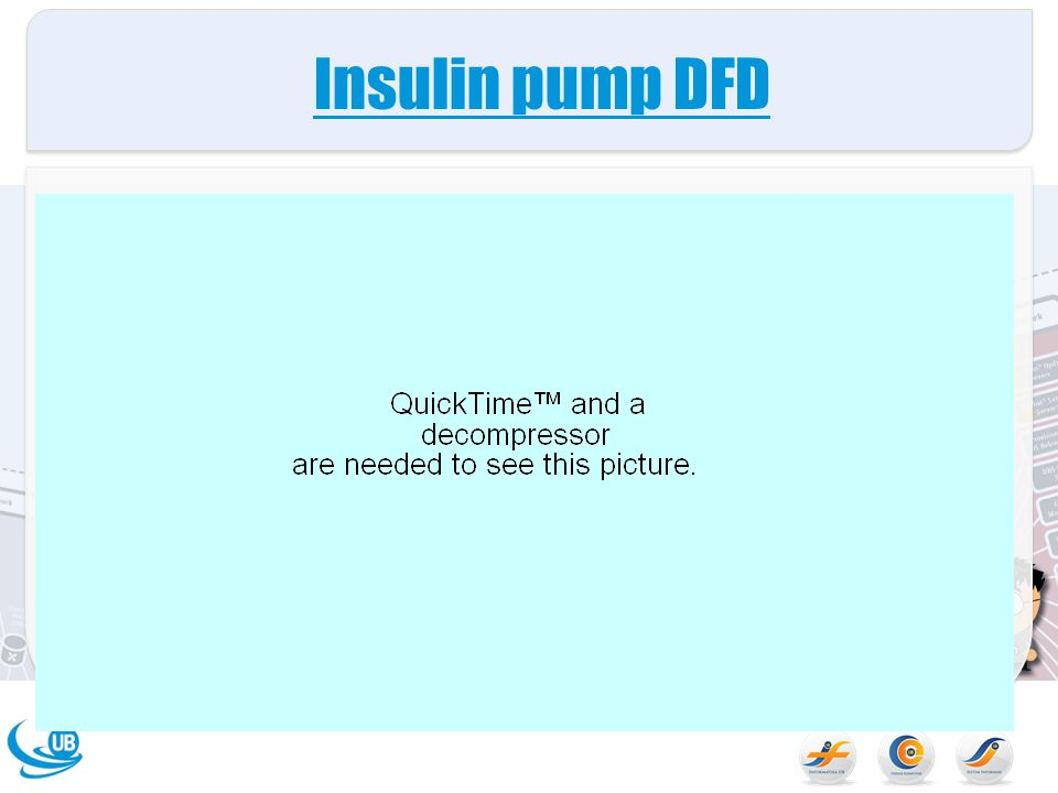 Insulin pump DFD