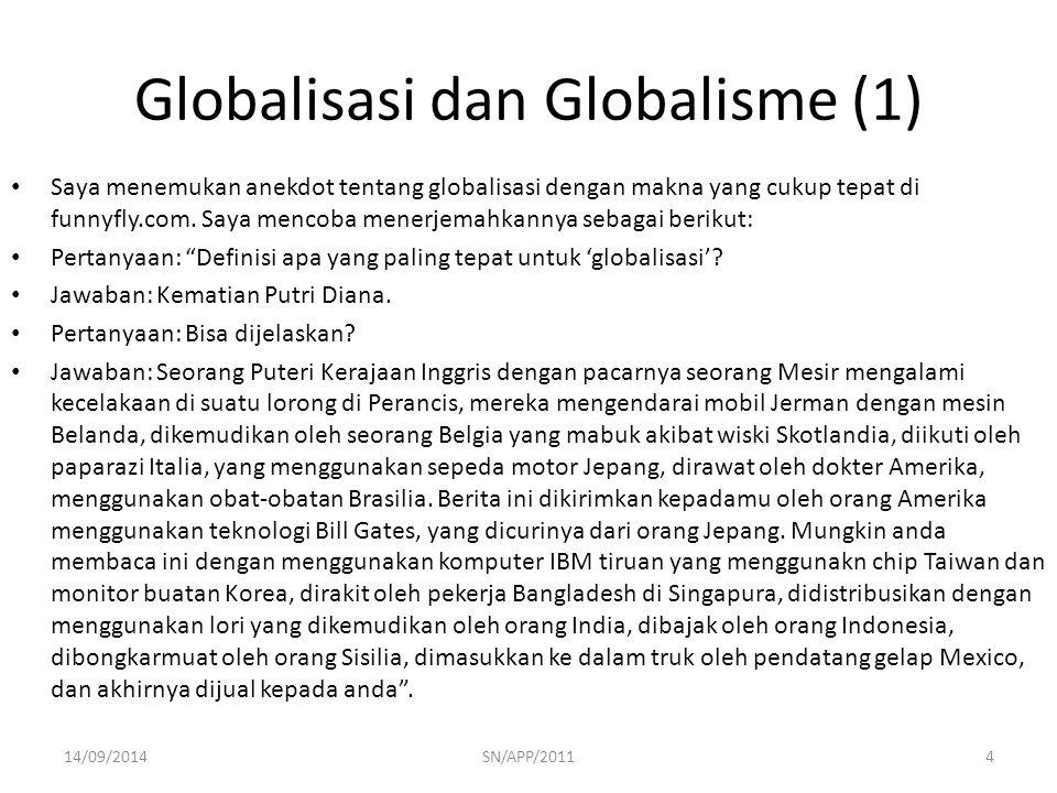 Globalisasi dan Globalisme (1)